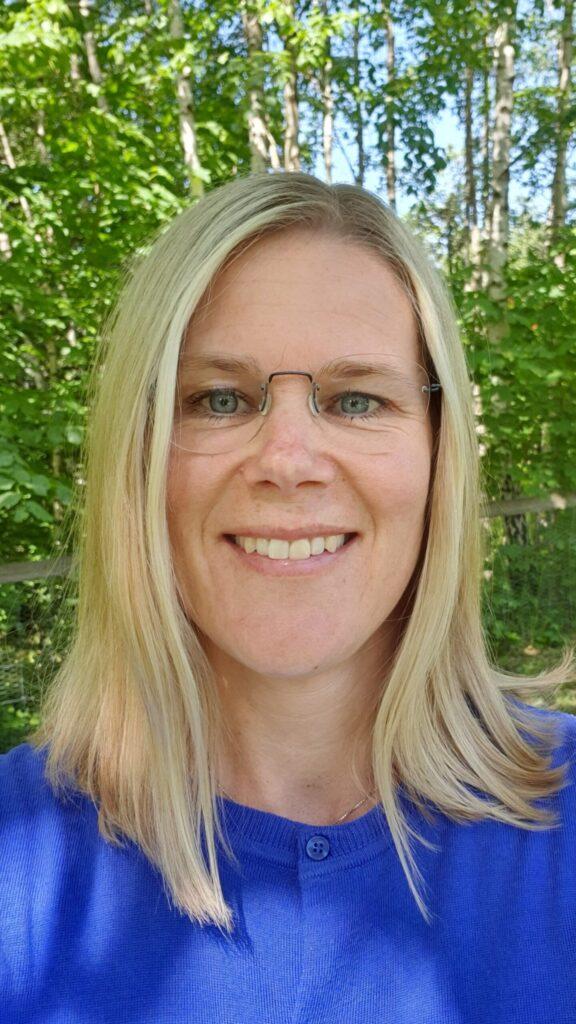Karin Hjelm, Karin Hjelm, universitetslektor och docent i skogshushållning vid SLU och som även sitter med i styrgruppen för Skånsk skogsstrategi.