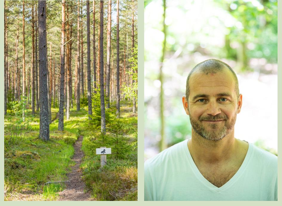 Tv. Magnus Eckeskog som är friluftssamordnare på Tekniska förvaltningen i Lunds kommun - och från och med 1:e november Chef för natur- och friluftslivsenheten. Övriga foto: MostPhoto