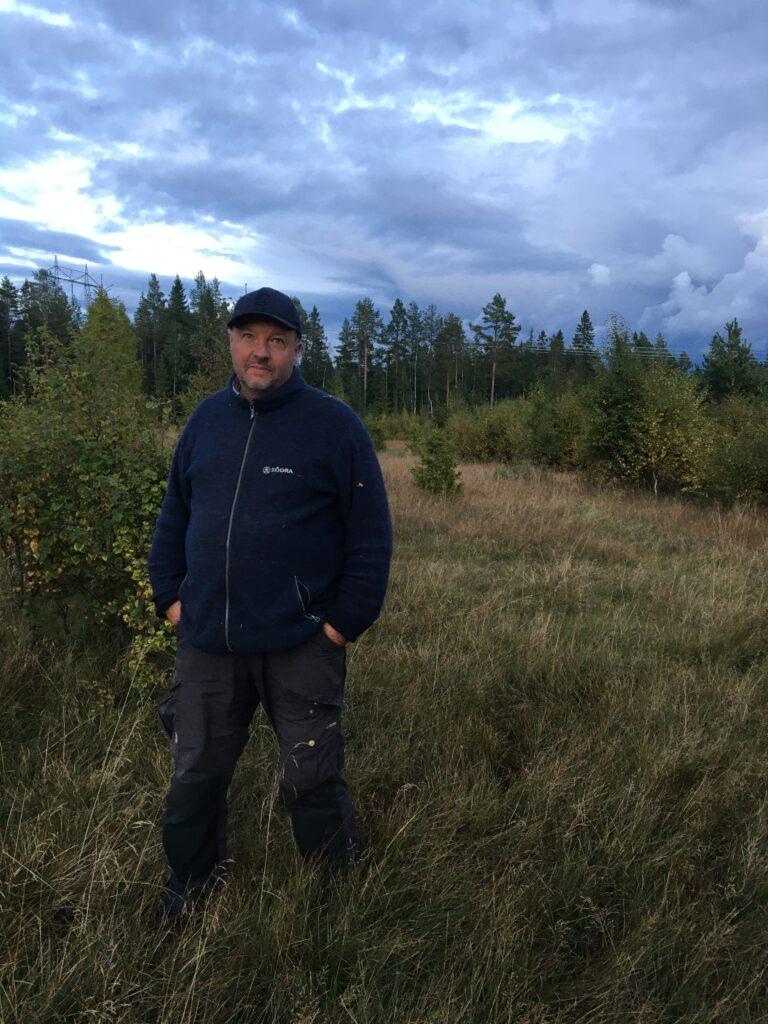 Anders Ekstrand är medlem i styrgruppen för Skånsk skogsstrategi och även vice ordförande i Naturskyddsföreningen Skåne.