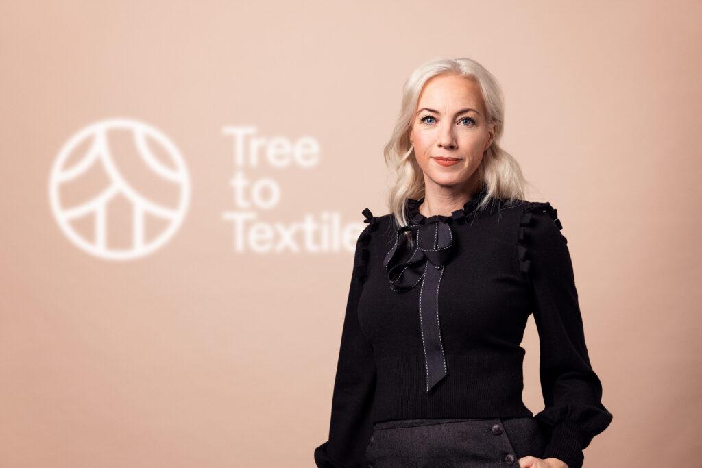 Sigrid Barnekow är VD för Tree to Textile.