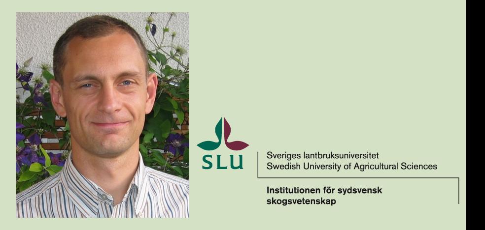 Vilis Brukas, SLU inom skoglig planering på Alnarp.