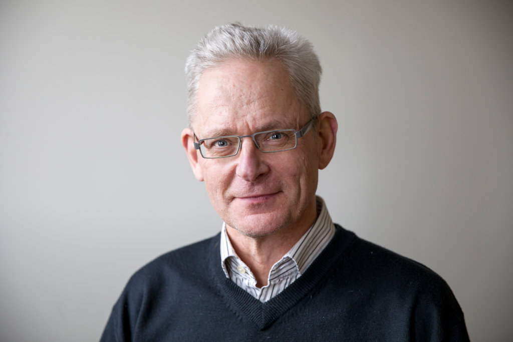 Porträtt på Erik Sollander