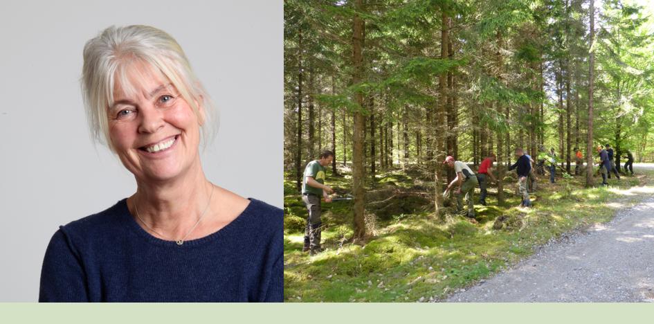 Eva Magnusson Vackrare skog Foto:Privat